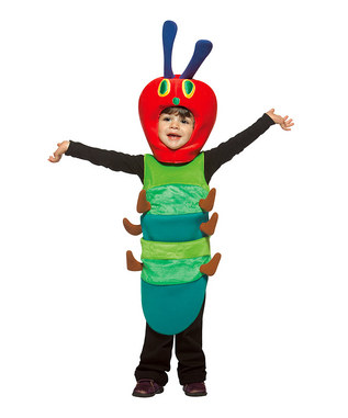 The Very Hungry Caterpillar As A Halloween Costume