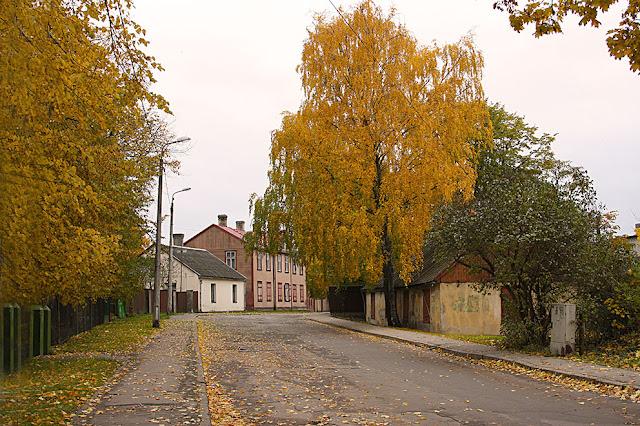 осень а Риге