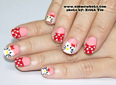Askmewhats top beauty blogger philippines skincare makeup hello kitty inspired nails prinsesfo Images