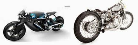 Gambar Motor Drag Unik Futuristik