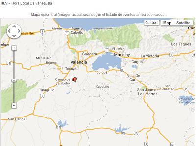 Temblor Sismo en Valencia Carabobo 9 de julio de 2013 Venezuela