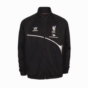 gambar jaket liverpool warna hitam terbaru musim 2014/2015 kualitas grade ori