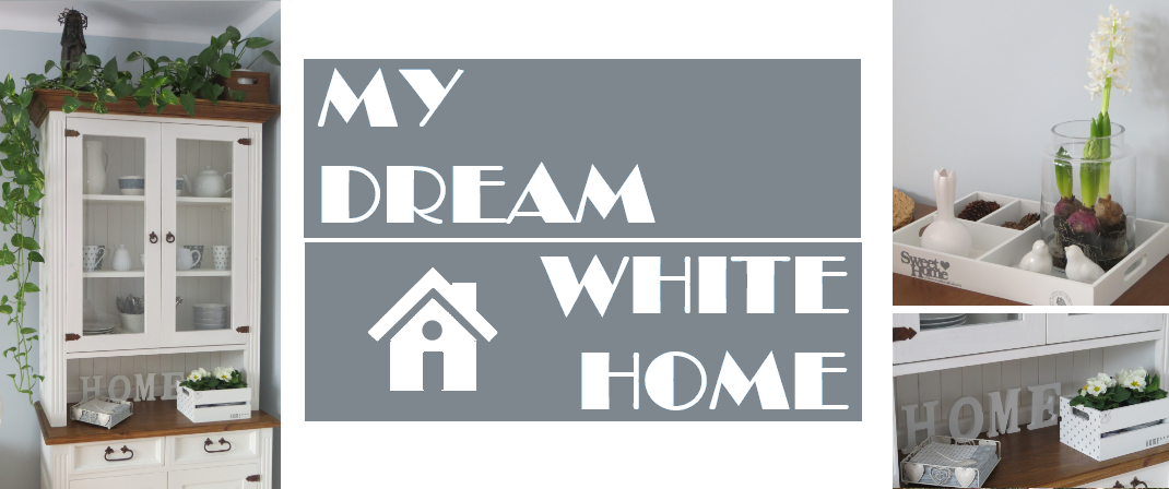 My dream white home