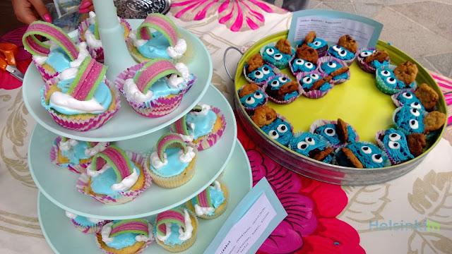 cupcakes at Ravintolapäivä