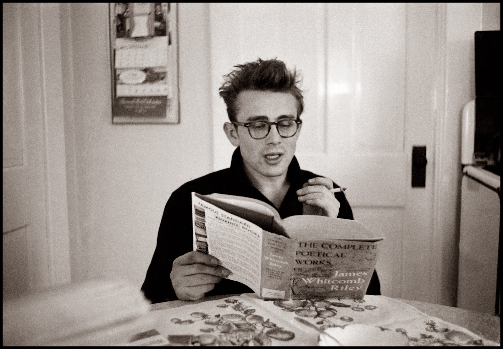 Poetry Amp Popular Culture James Dean Reading James