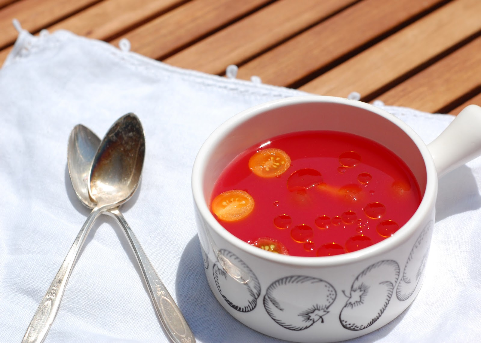 ... ! There's lots of summer left, why not jump on the cold soup train