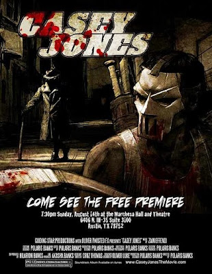 Watch Casey Jones 2011 BRRip Hollywood Movie Online | Casey Jones 2011 Hollywood Movie Poster