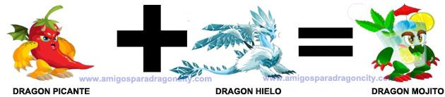 como conseguir el dragon mojito en dragon city combinacion 2
