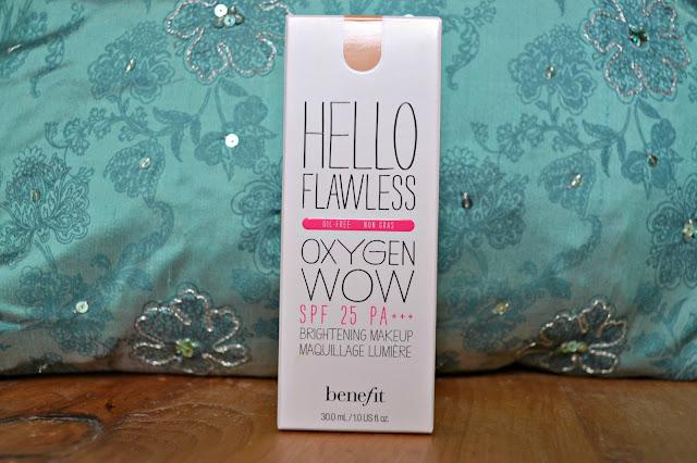 benefit hello flawless foundation honey