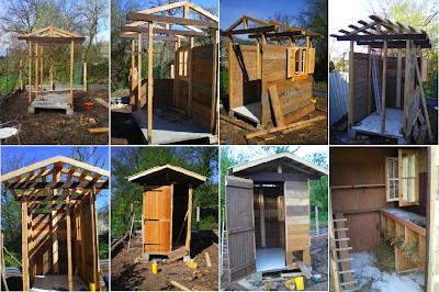 Crafty corner poulailler ou autre - Construire sa cabane de jardin ...