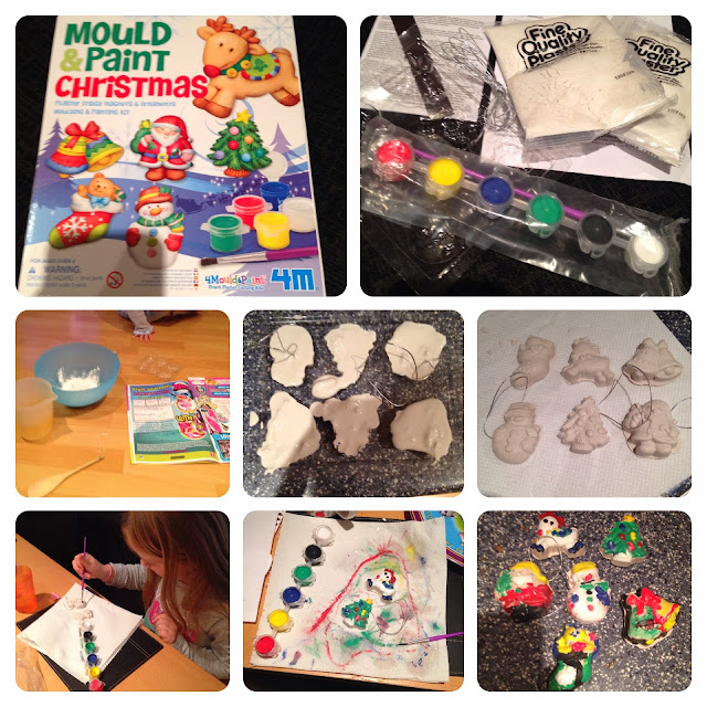 4m christmas mould and paint kit