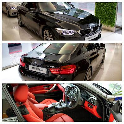 New BMW 435i M Sport