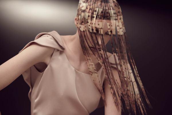 схема — окрашивание волос