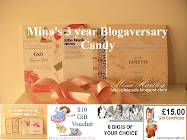 TO JOIN IN WITH MY 3 YEAR BLOGAVERSARY MEGA CANDY