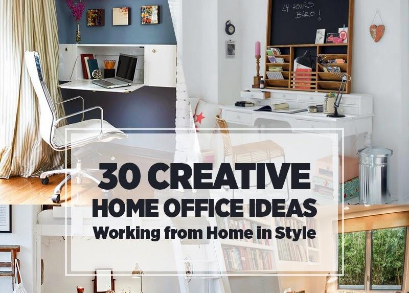 Desain Ruang Kerja Minimalis di Rumah