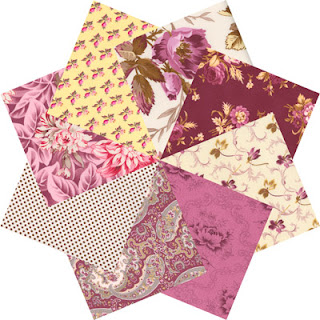 October Skies fabrics by Verna Mosquera