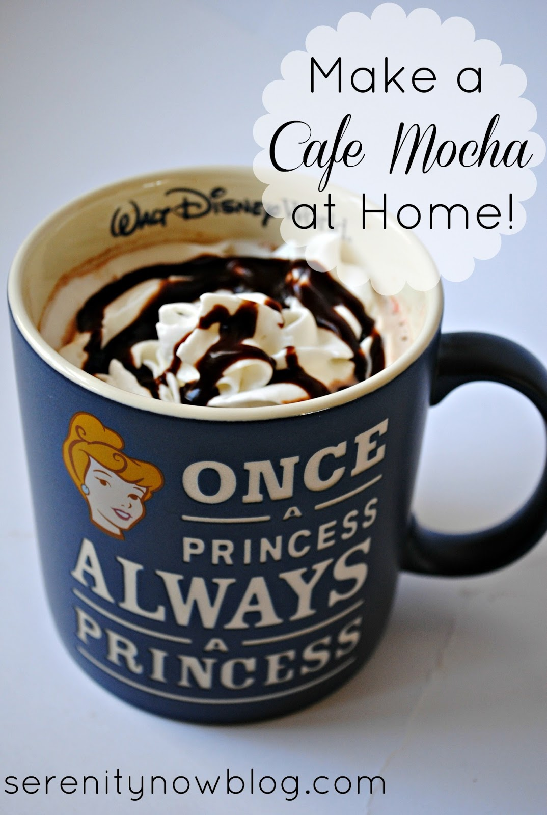 How To Make A Cafe Mocha At Home Pantry Ingredients From Serenity Now