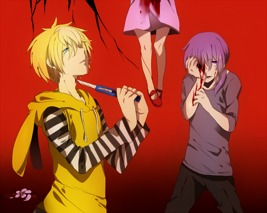 Happy Tree Friends Toothy and Cuddles Anime