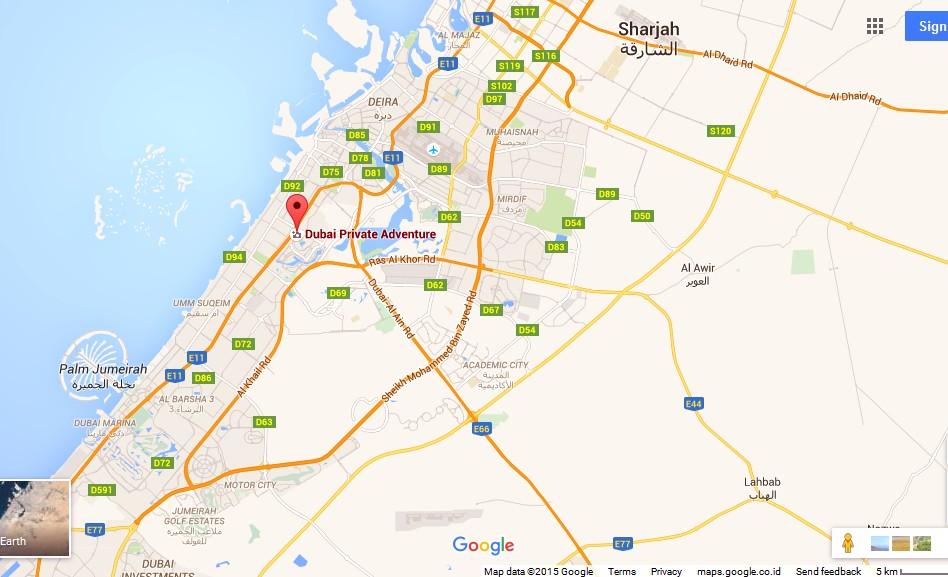 Dubai Private Adventure Map Dubai Tourists Destinations and – Dubai Tourist Attractions Map