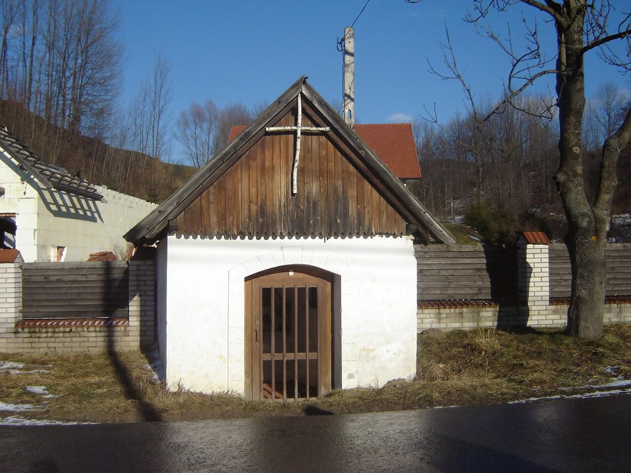 Kapliczka w Szlachtowej