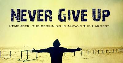never give up, eminem