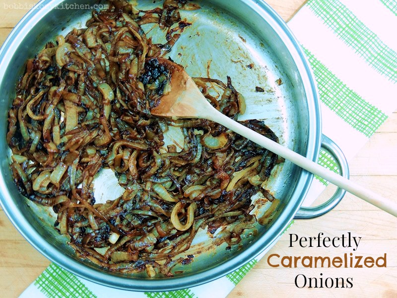 How to Make Perfectly Caramelized Onions | Bobbi's Kozy Kitchen