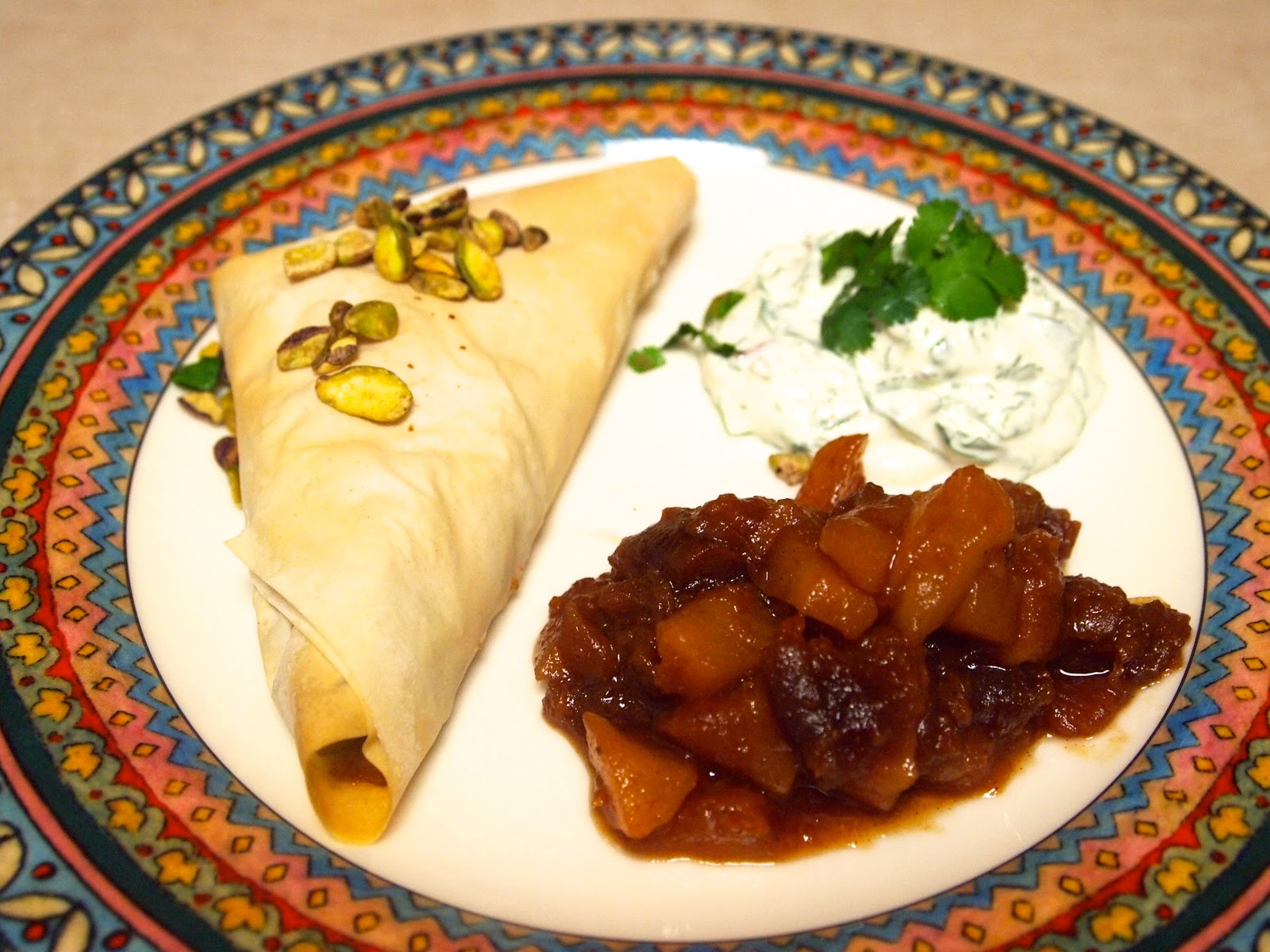 Potato Samosa Phyllo Triangles Recipes — Dishmaps