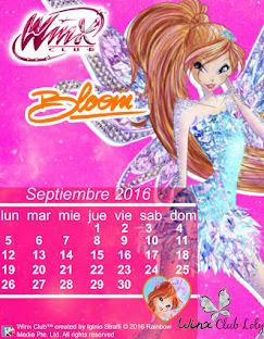 Calendario de Septiembre 2016