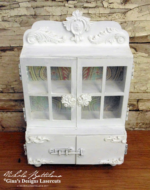 Gina's Designs Miniature Cabinet - Nichola Battilana