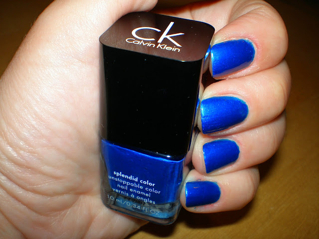 Calvin Klein splendid color in Deep Blue