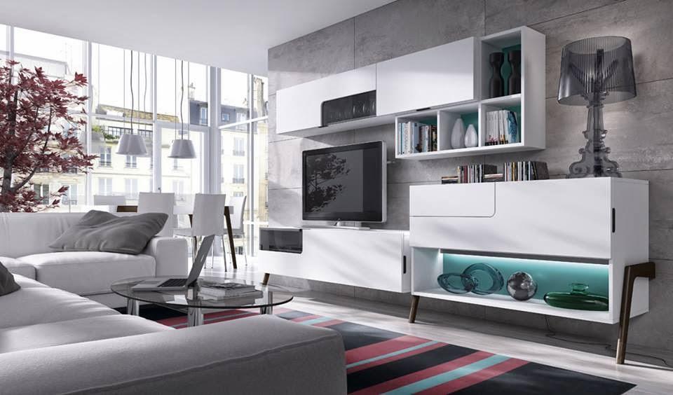 Como amueblar un salon decorar salones - Salones modernos pequenos ...