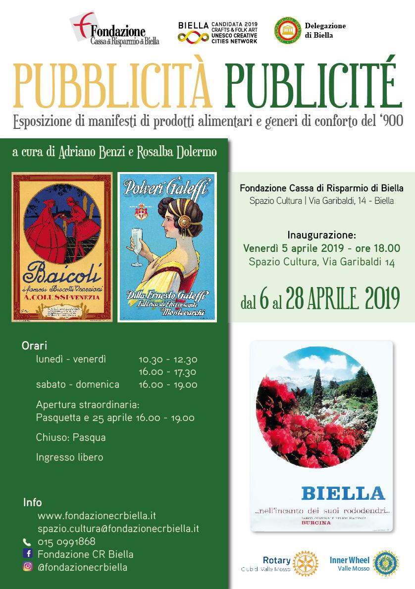 La Pubblicità a Biella