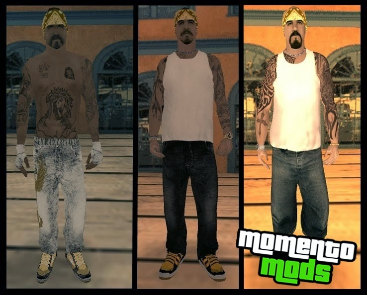 GTA SA - Skin Do Vagos Em HD