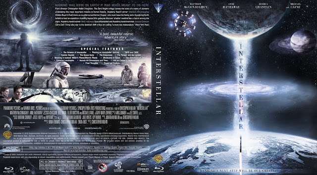 Capa Bluray Interstellar