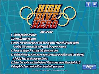 olympic diving screenshot