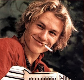 heath ledger smoking