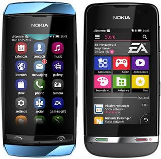 Info Harga HP Nokia Asha Terbaru 2013