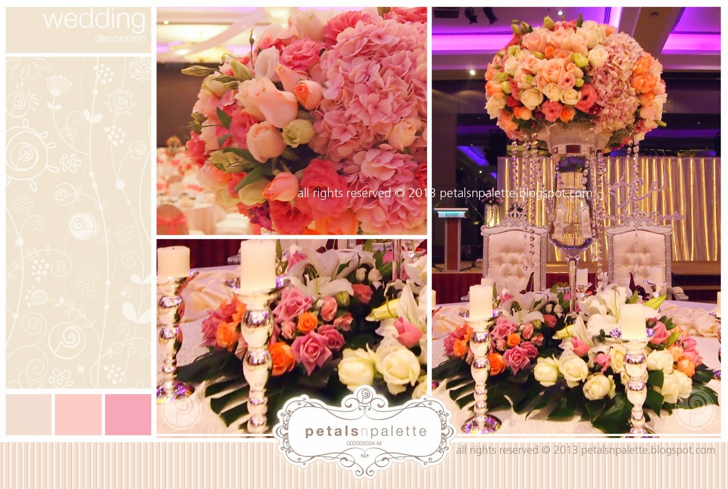 Wedding decoration malaysia floral design event styling wedding decoration eastin hotel pj junglespirit Gallery