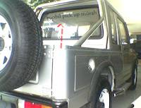 Mobil suzuki caribian Limited Edition, Agung Ngurah Car