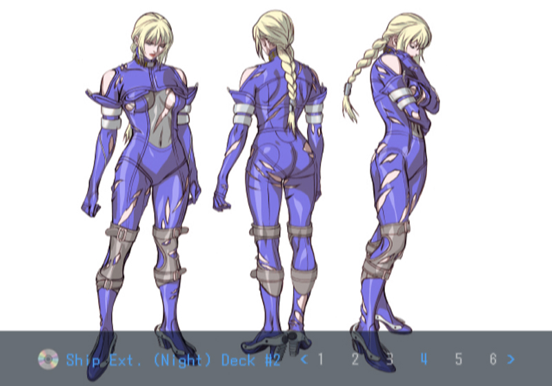 Death by Degrees Nina Williams Character Art