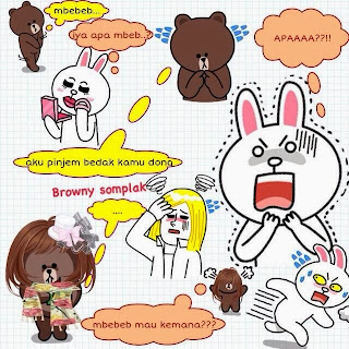 Display Picture DP bbm Line lucu brown and cony ~ Info ...