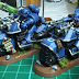 Space Marine Bikes Finished, Devastators WIP