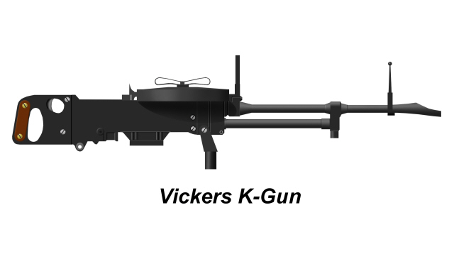 welcome to the world of weapons: Vickers K