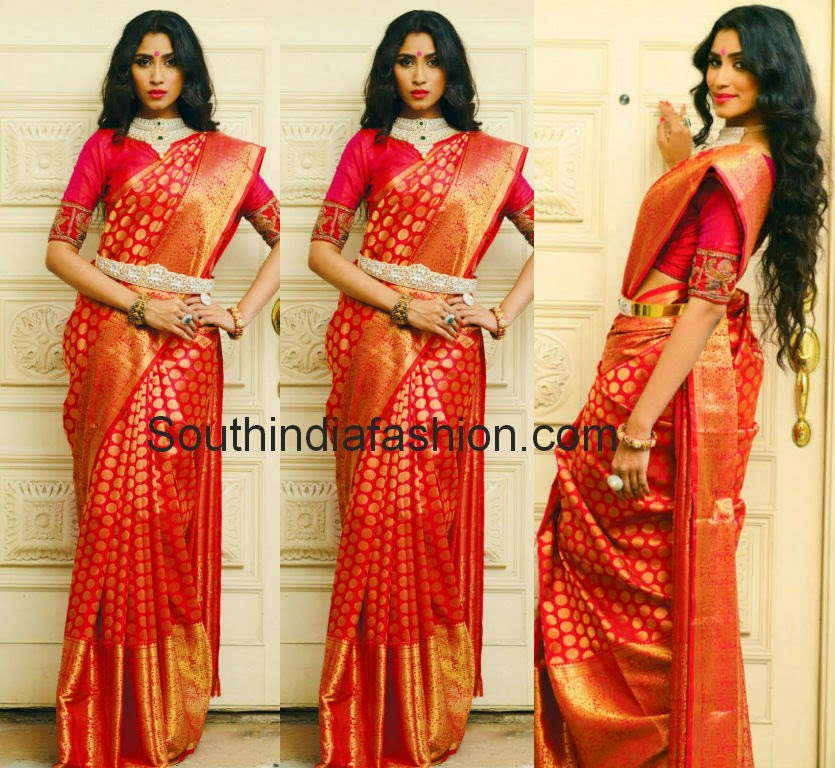 gaurang shah kanjeevaram bridal sarees