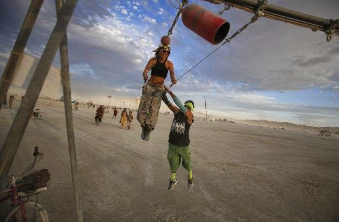 American Black Rock Desert, in Nevada, played host to the 29th year of this festival of art and creativity, which, as in previous years, visited by tens of thousands of applicants.