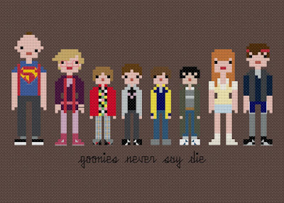 Goonies Cross Stitch