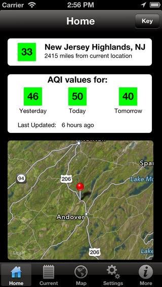 Air Quality Pro app