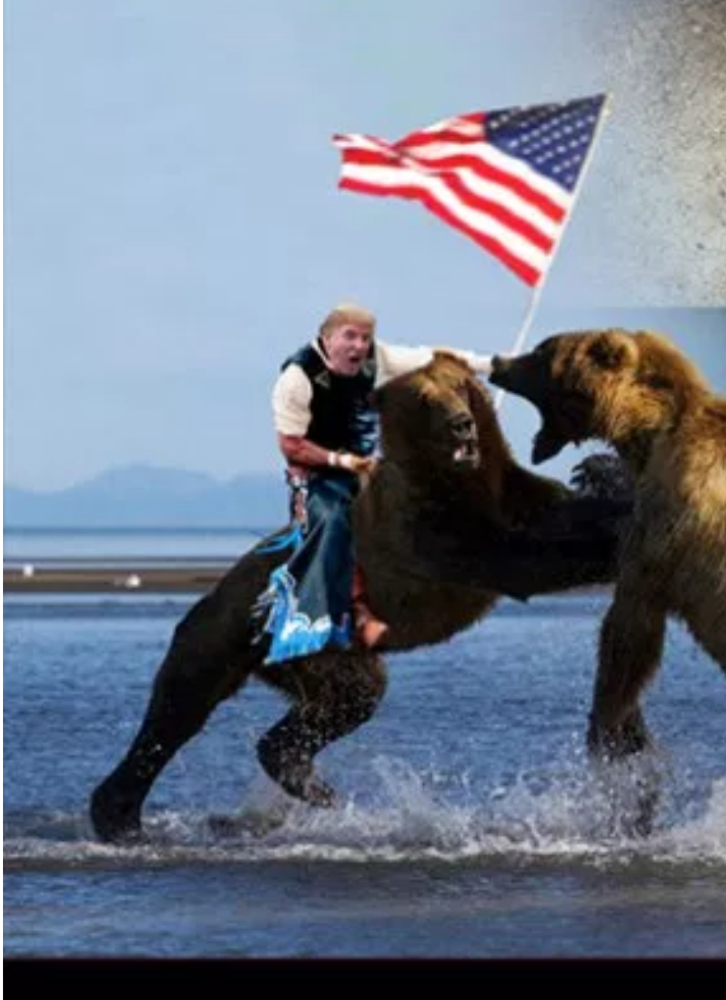 Donald Trump and the Russian Center Bear