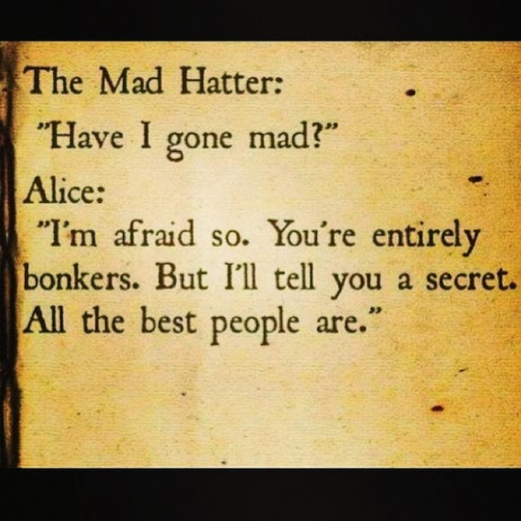 Mad Hatter Quotes From Alice in Wonderland 2010 Alice in Wonderland Quotes Mad