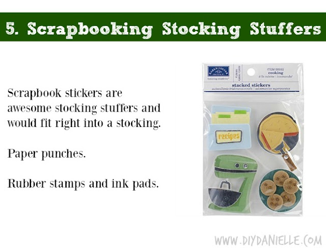 Holiday DIY Gift Guide: Stocking Stuffers for Scrapbookers